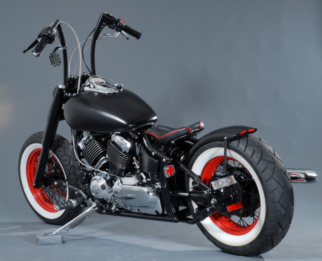 v star 1100 bobber with Nippon Customs on Watch together with 2007 07 Yamaha Vstar V Star 1100 Custom Chopper 103475 furthermore Watch also Benelli Mojave Fuel Tank Perfect For Virago besides Bluecollarbobbers.
